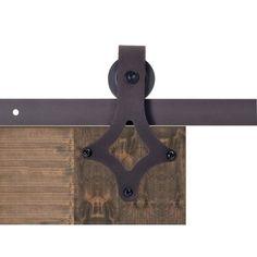 Vintage Style Sliding Door Track Barn Door Hardware