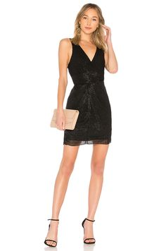 PARKER BLACK MORGAN DRESS. #parkerblack #cloth #