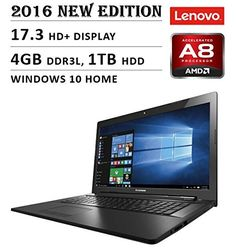 2016 Newest Lenovo Premium High Performance HD Laptop Intel Core Windows 10 Operating System, Core I, Laptops For Sale, Laptop Computers, Hdd, Wifi, Bluetooth, Traditional, Black