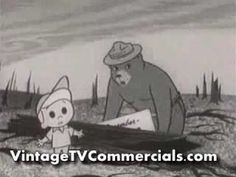 Not sure of the year but this is definitely on oldie as well as a goodie.  http://www.vintagetvcommercials.com