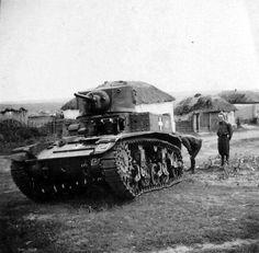 Stuart Tank in Hungarian service