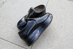 Comme des Garçons platform loafers. Women's 6.5 by czqqq on Etsy, $98.00