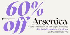 Arsenica (60% discount, from 10,80€) New Fonts, Branding, Logos, Desktop, Company Logo, Brand Management, Logo, Identity Branding