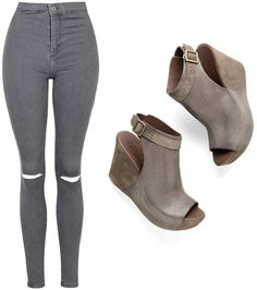 How to Wear: BERIT Wedges