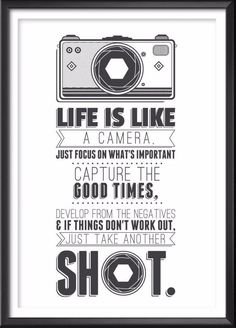 24 Ideas For Photography Camera Illustration Camera Illustration, Dslr Photography Tips, Quotes About Photography, Art Photography, Hipster Photography, Landscape Photography, Travel Photography, Typography Prints, Quote Prints
