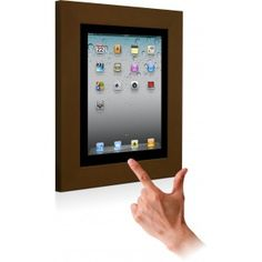 Meet the VidaMount iPad on wall frame / permanent dock. Turn any iPad into a dedicated touch interface for conference / meeting room signage, time clocks, automation controls, & more!