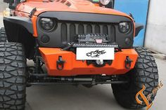 Front-Matte-Black-Angry-Bird-Grille-for-07-14-Jeep-Wrangler-Rubicon-Sahara-JK