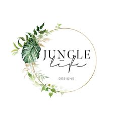 A beautifully elegant tropical logo design from my premade range. An affordable solution for those on a budget. Great for small shops, photographers, interior stylists and beauticians. Photography Packaging, Logos Photography, Ideas Para Logos, Design Tropical, Wedding Event Planner, Wedding Planners, Beauty Logo, Party Items, Logo Branding