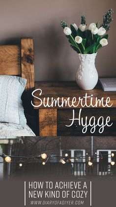 Hygge isn't just a winter experience—it's a lifestyle that can be achieved all year long. Here's how to update your home with hygge for the summertime. lifestyle home Summertime Hygge: How to Achieve a New Kind of Cozy Up House, Cozy House, Konmari, Summer Hygge, Danish Hygge, Hygge Life, Style Deco, Cozy Living, Simple Living