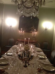 the dinner table  is ready