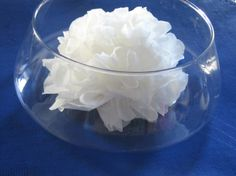 fleur en papier de soie