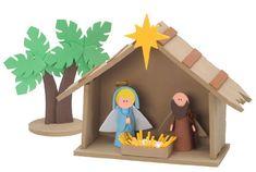 Natale lavoretti per bambini Natività