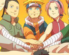 Sakura, Sai, and Naruto #Naruto