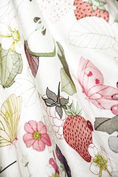 Christian Fischbacher Drapery Interior Home Fabrics - Marmelade