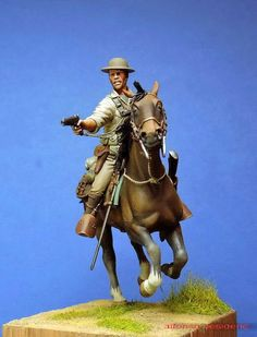 Cavalry, Philippine Scouts - Charge of Bataan January 1942 - Virtual Museum of Historical Miniatures Military Photos, Military History, Waterloo 1815, Bataan, Virtual Museum, Military Diorama, Toy Soldiers, Animal Paintings, Figure Painting