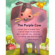 poem purple cow | Purplecow_pb09