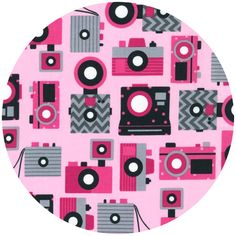 Ann Kelle, This and That, Cameras Sweet @ fabricworm.com (out of stock)