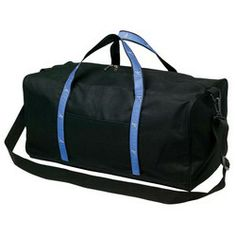 Nylon Duffel with Woven Strap  #promotionalproducts #giveaways   #customprinted   #customized  #businessgifts  #branding  #branded
