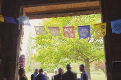 Alternative wedding bunting