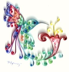 My sister could make this for me...quilling