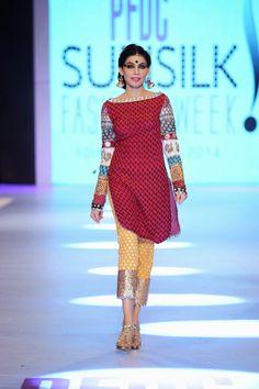 Karma Pink - PFDC Sunsilk Fashion Week 2014