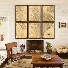 "Huge map of Texas, 1867, Vintage Texas map in 6 prints in 4 sizes up to 90x80"" Old map of Texas as Big as Texas, Limited Edition - Print 71"