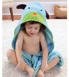 Su... Premium Ultra Soft Organic Bamboo Baby Hooded Towel with Bonus Bath Mitt