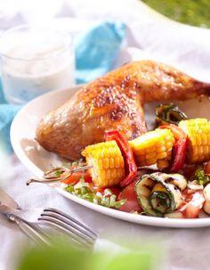 Broileria ja kesäisiä vihanneksia | Muut alkuruoat | Pirkka