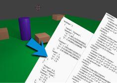 Droppr - Blender objects info to json