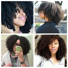 """""""It amazes me how different and unique afro-textured hair is. Over the last three years, my wash n gos haven't changed that much in SIZE. Shape, yes...Growth occurs, but sometimes it doesn't look like it in its shrunken state. Try not to get discouraged if the size seems the same. Even if you don't post them, take photos for tracking. As always, stay encouraged."""" Photo taken by @eclark6 on Instagram, pinned via the InstaPin iOS App! http://www.instapinapp.com (04/25/2014)"""