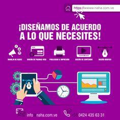 #Diseño #Grafico #Web #Manejo de #Redes #NAHA . Hola en @naha.com.ve tenemos estos servicios en Diseño y mas.. . Diseño Gráfico Manejo de Redes Diseño Paginas Web  Desarrollo de Contenido Publicidad Exterior e Impresión . Planes a tu medida en nuestro SITIO WEB . Ingresa: WWW.NAHA.COM.VE . #DOMINGO #venezuela #caracas #valencia #maracay #naguanagua #peru #panama #ecuador #chile #venezolanosenmiami #venezolanosenflorida #venezuelaesresistencia #soloenvenezuela #venezolanosenperu…