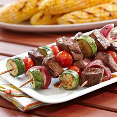 Learn to make Steak & Chop Kabobs. Read these easy to follow recipe instructions and enjoy Steak & Chop Kabobs today!