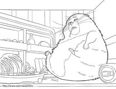 The Secret Life of Pets Coloring Pages Unique Coloring Pages, Disney Coloring Pages, Animal Coloring Pages, Coloring Book Pages, Printable Coloring Pages, Coloring Pages For Kids, Adult Coloring, Kids Coloring, Free Coloring