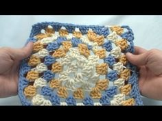 3 Way Crochet Granny Square - Never Ending Granny Series: Video Tutorial