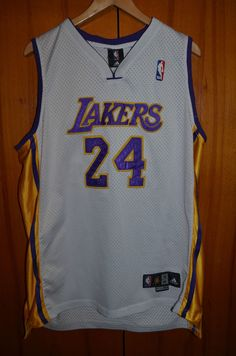 19f6ee4a8ba  NBA Los Angeles Lakers Authentic  Basketball Shirt Jersey Adidas  24 Kobe  Bryant from  179.99