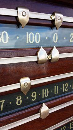 Antique Riley snooker scoreboard B638.