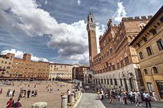 Piazza del Campo, una #twitpic di Marco Spalletti da #Siena