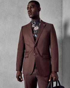 cd4d0348410d Ted Baker MARLIEJ Wool satin detail dinner suit jacket