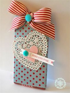 CANDY BAR SLIDER - TUTORIAL  paper & ICE: Valentine Candy Bar Slider