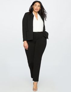 Trendy womens business professional outfits plus size - Work Outfits Women Summer Work Outfits, Casual Work Outfits, Office Outfits, Work Attire, Work Casual, Office Attire, Office Wear, Casual Office, Outfit Work