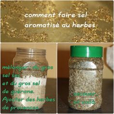 made in Liochka: tuto pour faire du sel aromatisé maison Diy Gifts, Mason Jars, Water Bottle, Fragrance, Homemade, How To Make, Food, Copycat, African Fashion