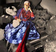 Le créateur Marc Jacobs choisit la nonagénaire Iris Apfel pour représenter sa nouvelle campagne prêt-à-porter.