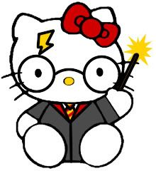 possible tattoo! hello kitty as harry potter!