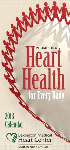 Heart Health 2013 Calendar