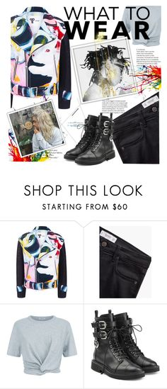 """""""What to wear?"""" by marianazarova ❤ liked on Polyvore featuring BIG PARK, MANGO, T By Alexander Wang, Giuseppe Zanotti and Chanel"""