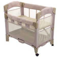 Gift - Arm's Reach Concepts Mini Arc Co-Sleeper Bedside Bassinet, Toffee Dot