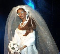 Esme's Wedding OOAK Doll by Donna Reed Griggs