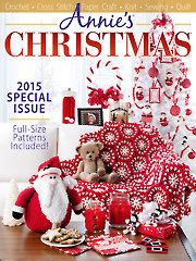 Crochet Patterns - Annie's Christmas Special 2015
