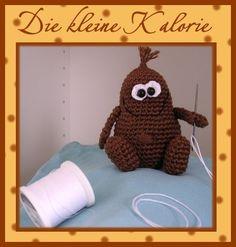 "Häkelanleitung "" Kleine Kalorie"" from Babsie´s Hook by DaWanda.com"