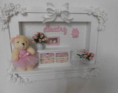 Porta Maternidade Ursa Bailarina